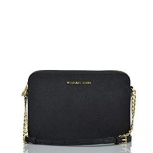 Michael Kors Womens Jet Set Item Crossbody Bag No Size (Black)