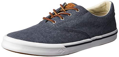 Sperry Mens Striper II CVO Sneaker, Navy, 8.5